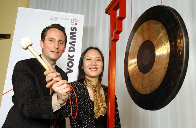 Gründung VOK DAMS CHINA 2004