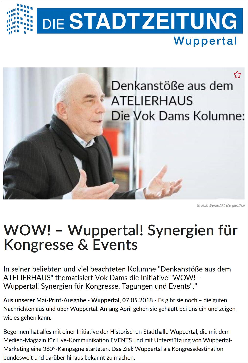 Stadtzeitung Mai 2018