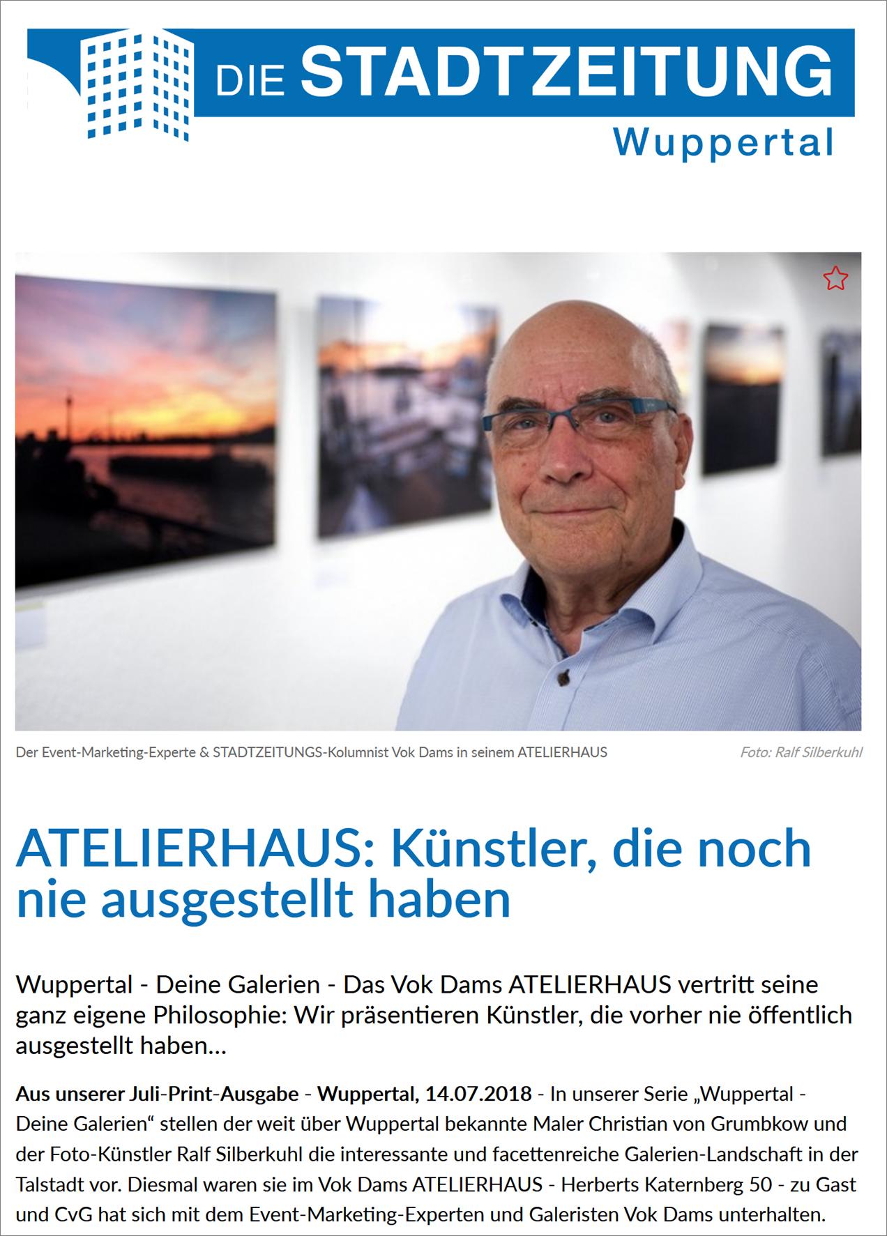 18-07-13_Die Stadtzeitung Wuppertal