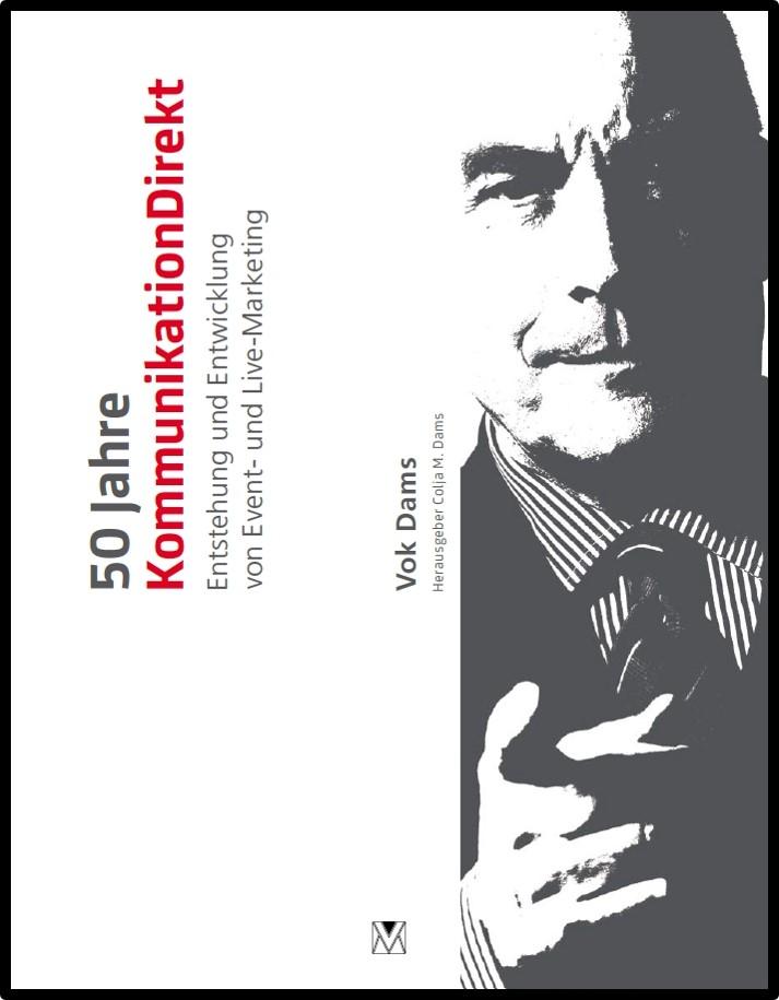 Bild vom Buch 50 Jahre KommunikationDirekt